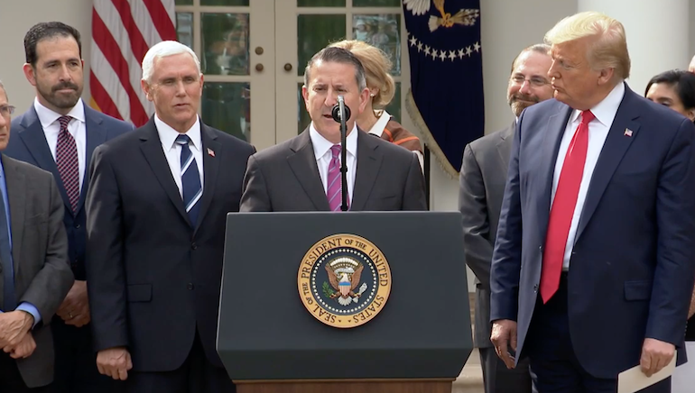 Brian Cornell-Target-White House Coronavirus Press Conference