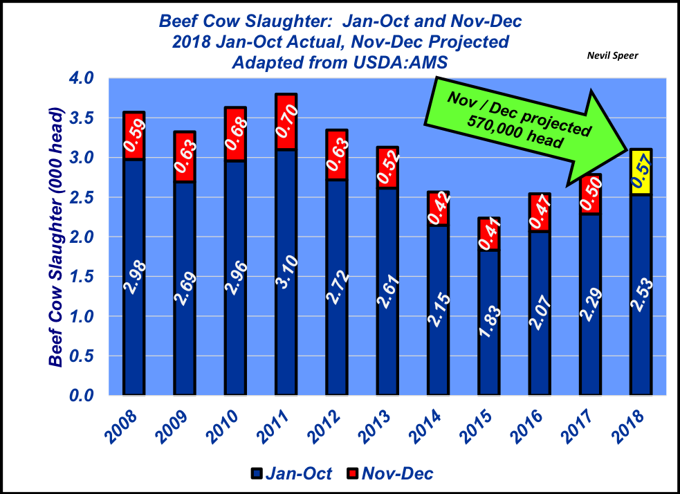 December 2018 Cow Slaughter