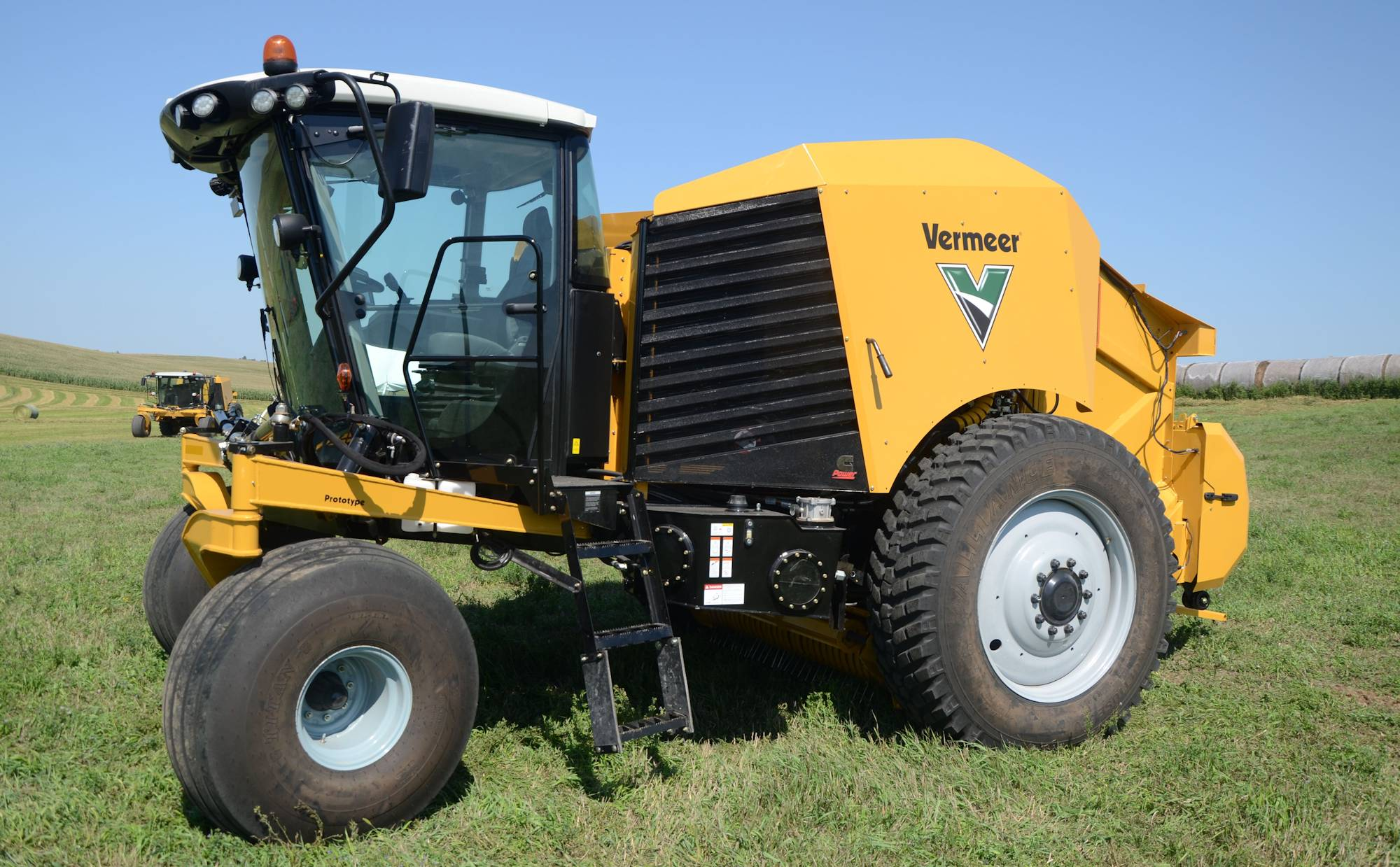 Vermeer unveils first-of-its-kind self-propelled baler ... on