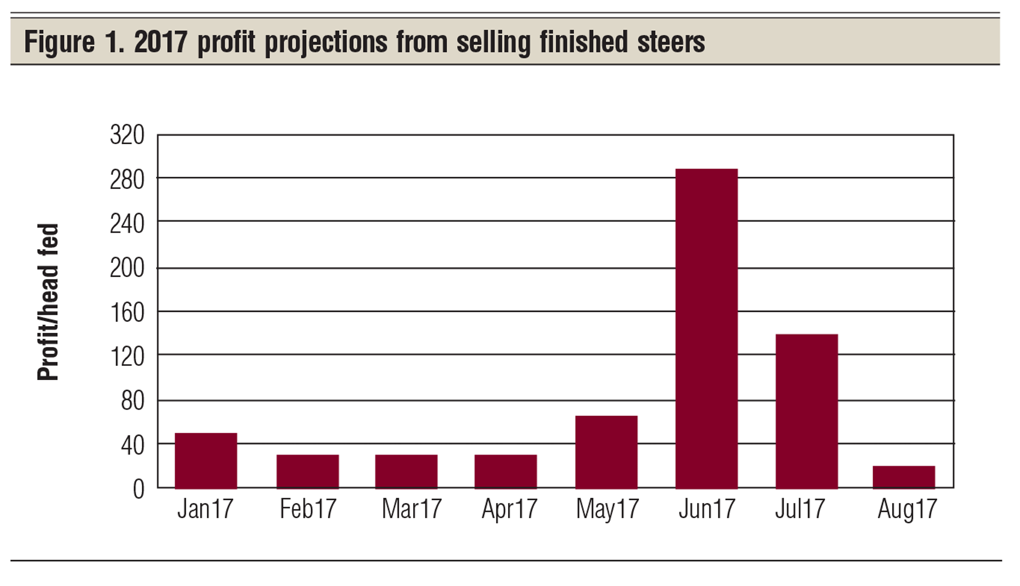 profit projections
