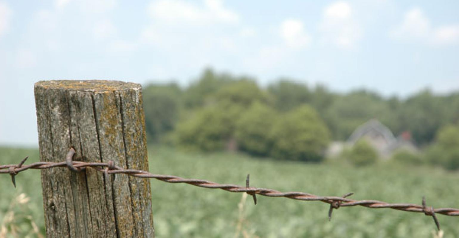 Tips for setting fence posts in difficult ground | Beef Magazine