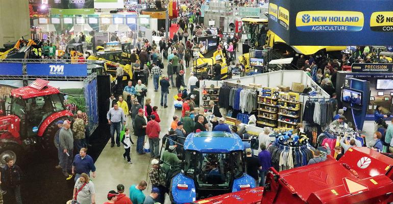 National Farm Machinery Show crowd shot