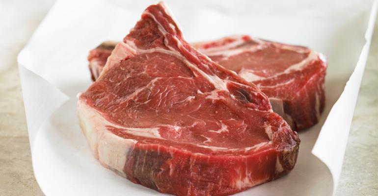 Steak on a plate