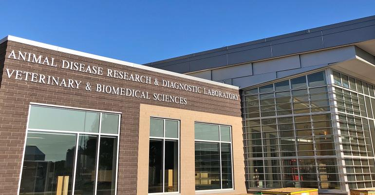 new Animal Disease Research and Diagnostic Laboratory at SDSU