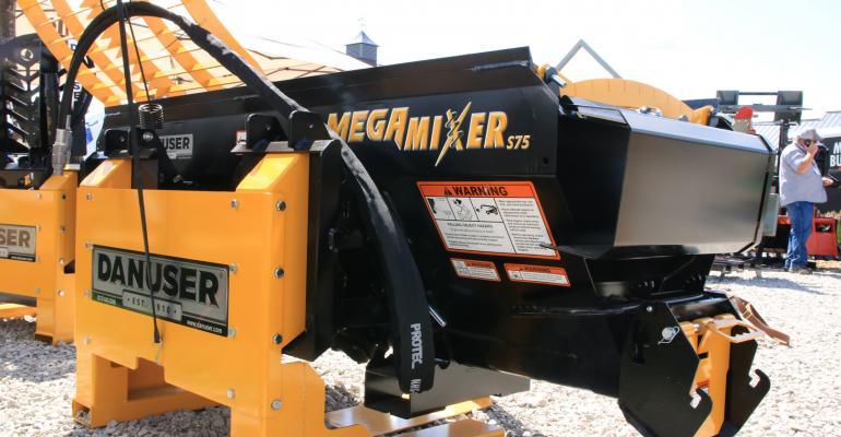 Danuser Megamixer S75