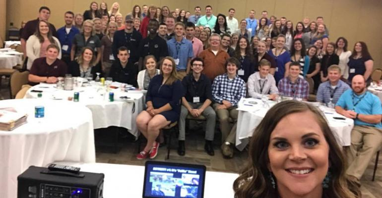 Working with future ag leaders