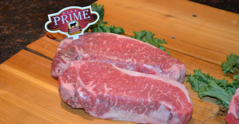 Prime and Choice beef