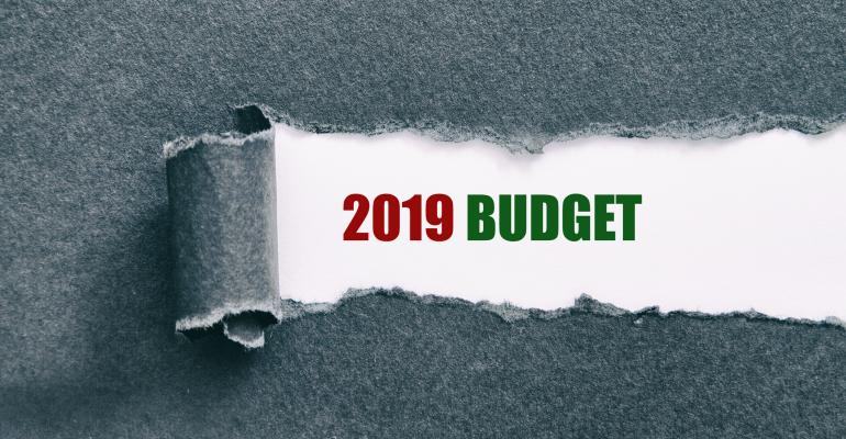 Budget for 2019
