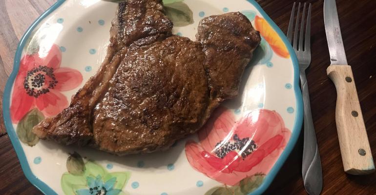 Beef and hormones