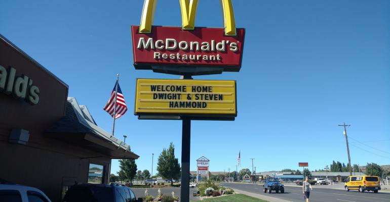 McDonalds in Harney County