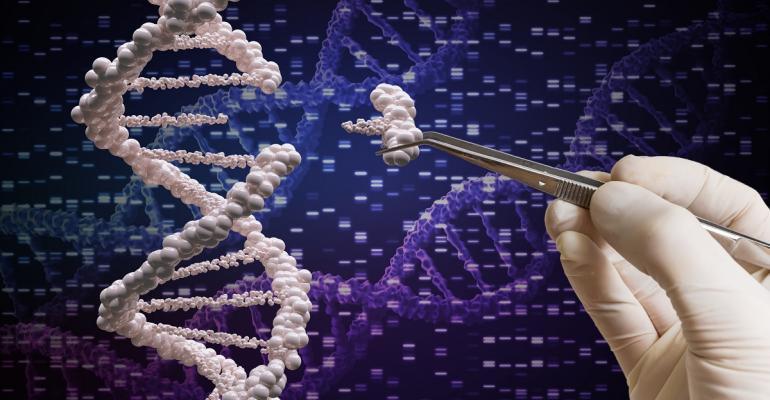 Gene editing representation