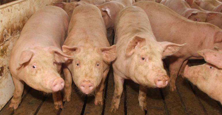 Finishing pig barn