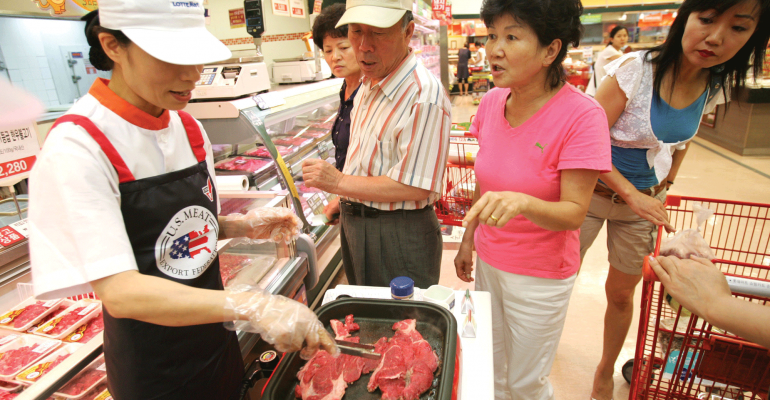 U.S. beef in China