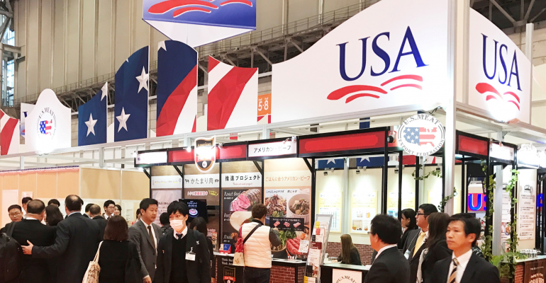 USMEF foodex show