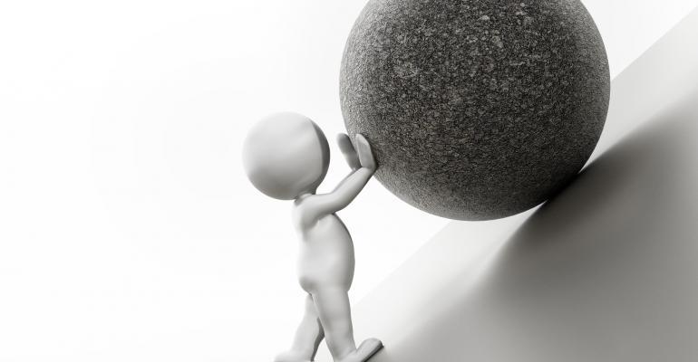 Sisyphus for cowboys: