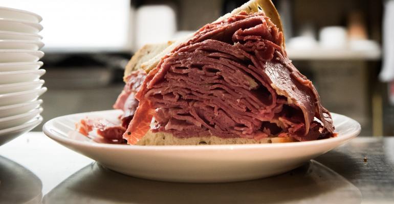 Deli Roast Beef Sandwich