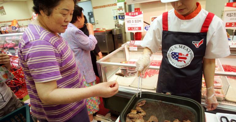 U.S. beef promotion in South Korea