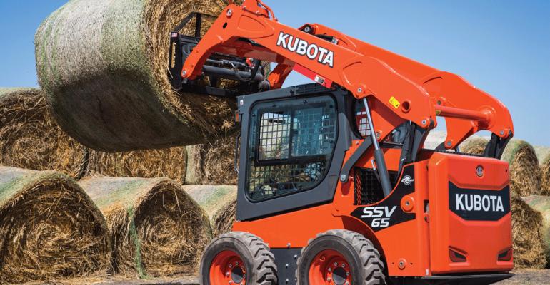 Skid steers in Kubota's SSV Series make debut