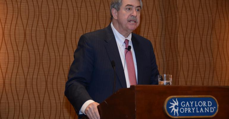 USDA undersecretary Ted McKinney addresses AFBF