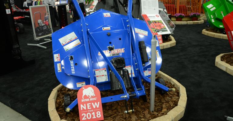 HDTH Turf Hog finishing mower