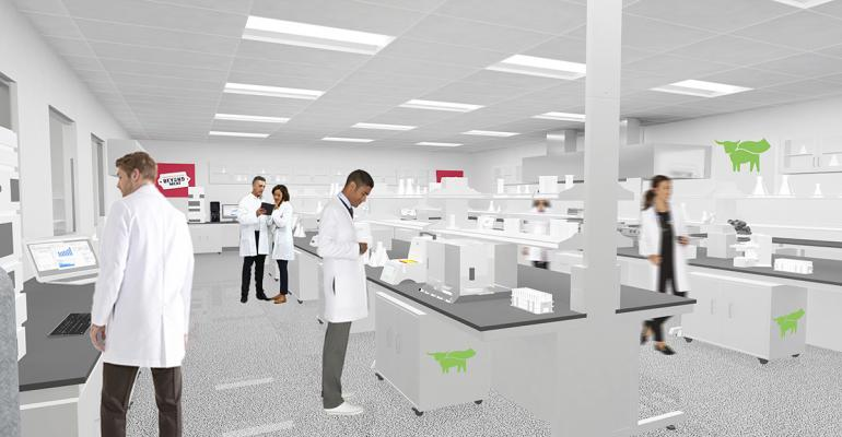 Beyond Meat's new Manhattan Beach Project Innovation Center in Los Angeles, Cal.