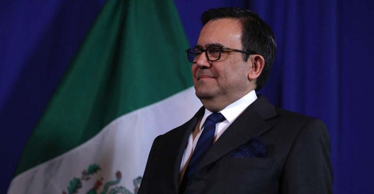 Mexico's Minister of Economy Ildefonso Guajardo Villarreal