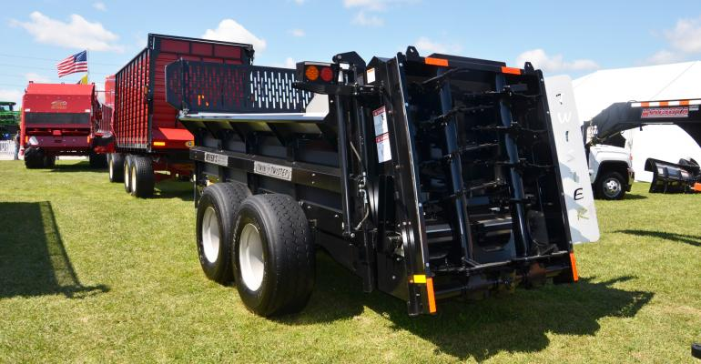 Meyer's manure spreader