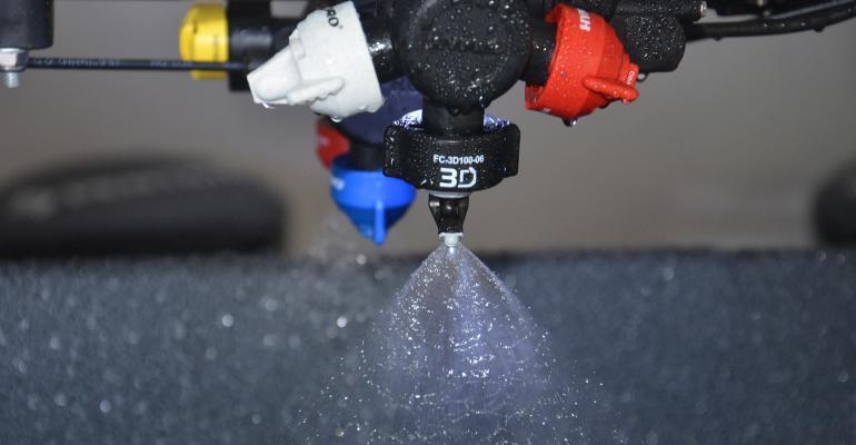 Pentair 3-D nozzle concept