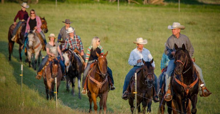 Don family horseback