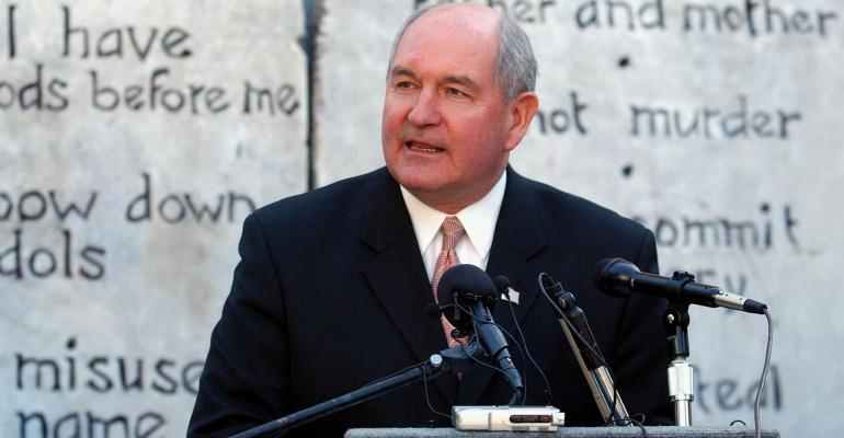 groups react to Sonny Perdue choice for Secretary of Agriculture