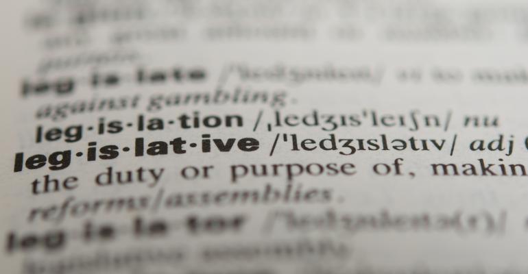 Dictionary definition of the word legislative
