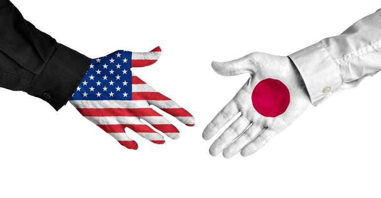 impending handshake between U.S. and Japan negotiators