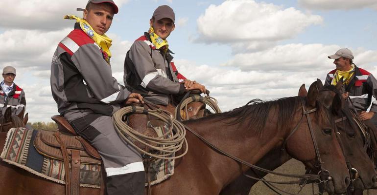 Russian cowboys