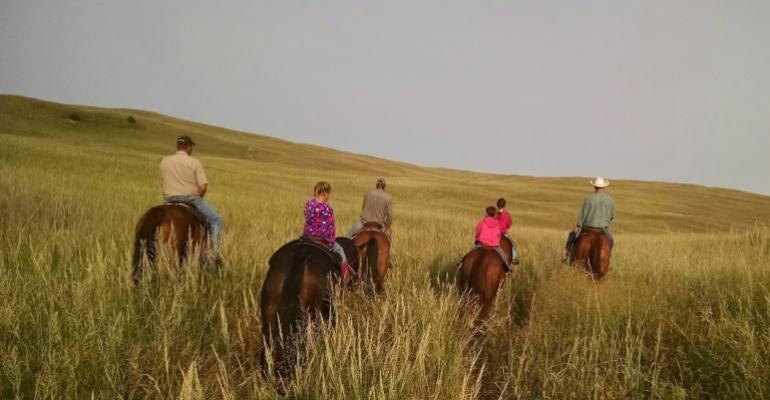 Kids in ranching