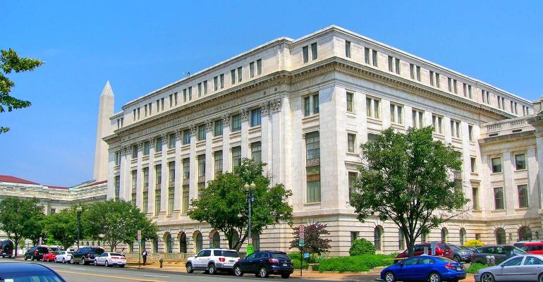 USDA Building view from street