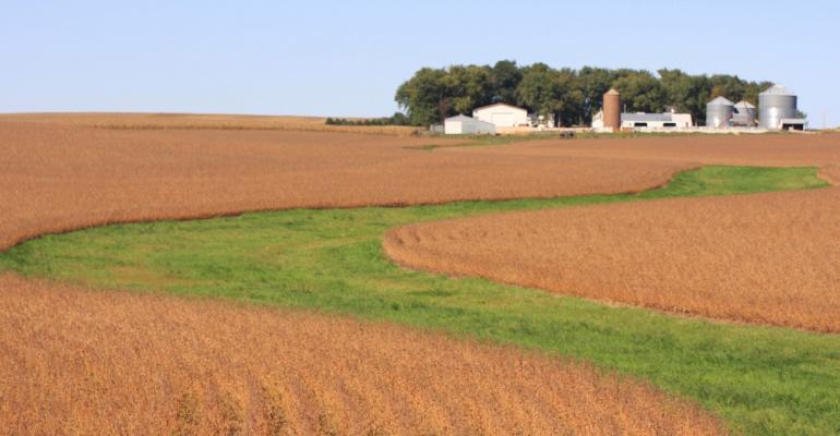 working lands conservation waterways Iowa field