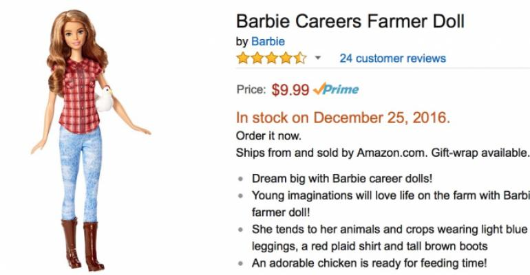 Career Farmer Barbie