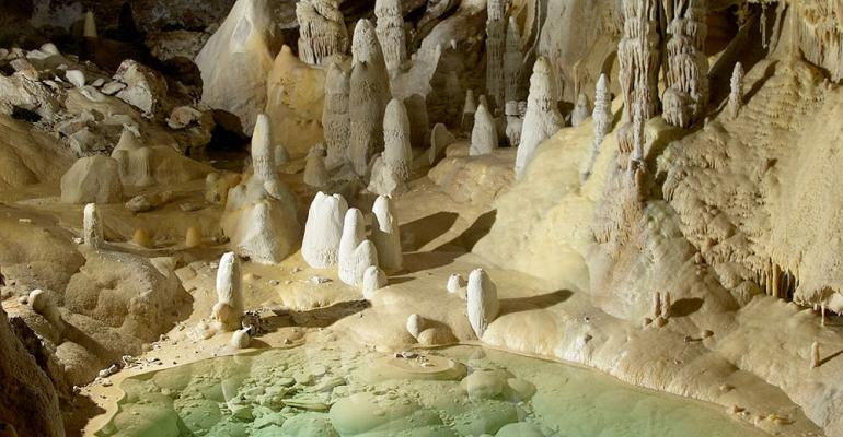 New Mexico's Lechuguilla Cave, a place isolated from human contact until recently, is home to a remarkable prevalence of antibiotic-resistant bacteria.