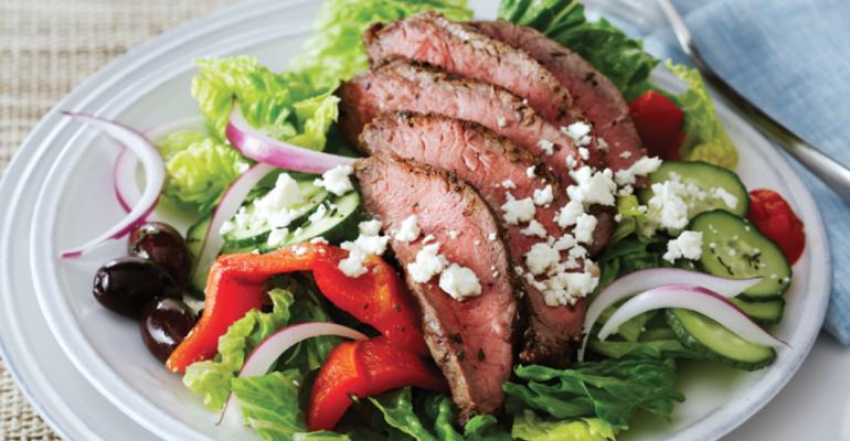 Beef lowers cholesterol