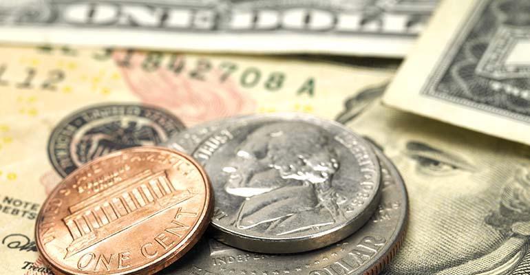 coins money checkoff dollars