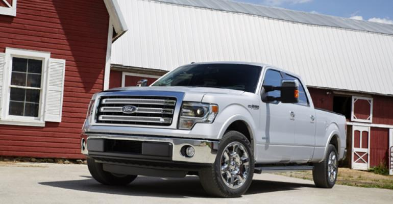 Ford 150 and other new trucks for 2014