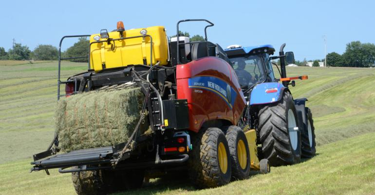 High-tech forage equipment, new tractors ahead