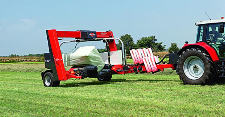 kuhn square bale wrapper