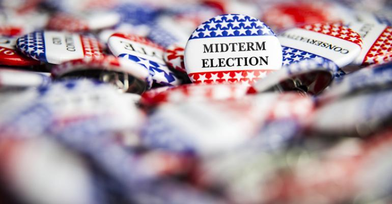 Election Vote Buttons Midterm Election