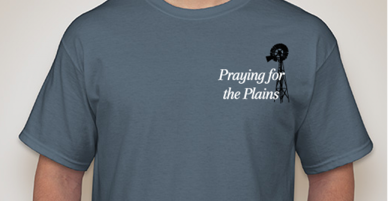 Praying For The Plains t-shirt