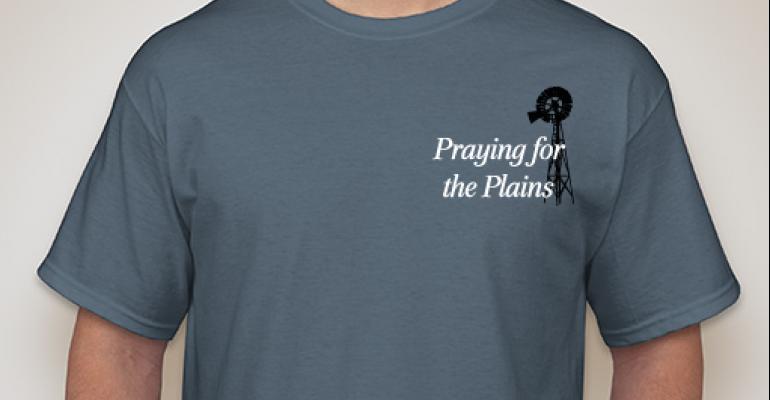 Praying For The Plains t-shirt