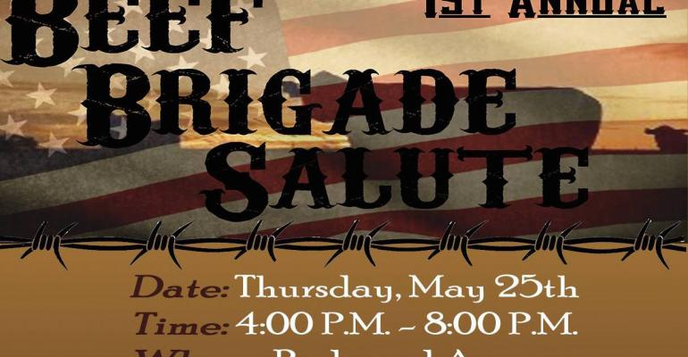 Beef Brigade Salute
