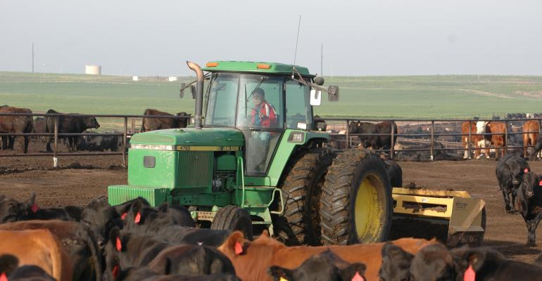 Feedyard Dust Management In An Epic Drought