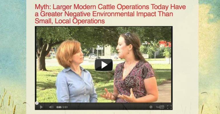 Latest Mythcrushers Installment Addresses Misperception Of Environmental Impact Of Larger Modern Cattle Operations