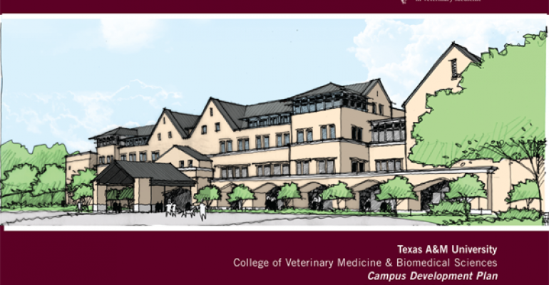 New $120 Million Classroom Building Approved For Texas A&M College Of Veterinary Medicine & Biomedical Sciences